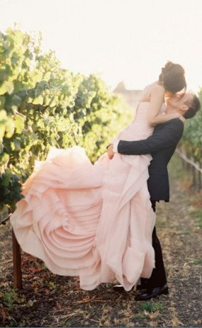 blush-colored-vera-wang-novia-rosa-wedding-dress-369x600